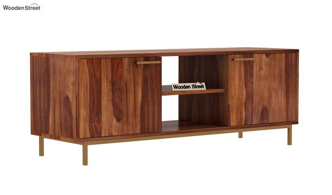 Alto Tv Unit (Teak Finish)-4