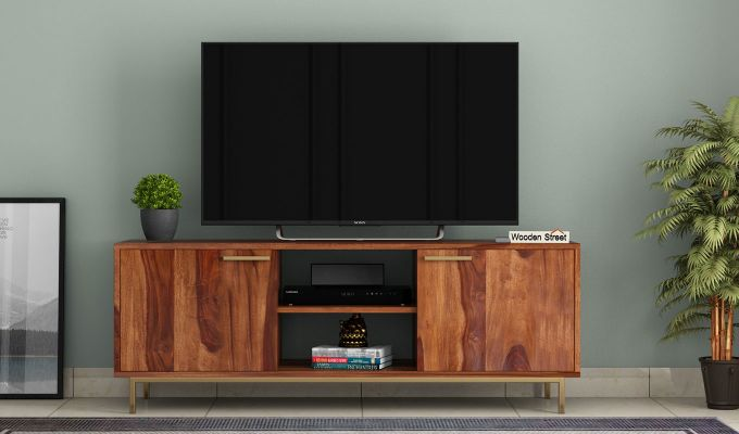 Alto Tv Unit (Teak Finish)-2