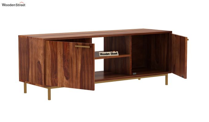 Alto Tv Unit (Teak Finish)-5
