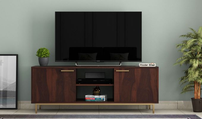 Alto Tv Unit (Walnut Finish)-2
