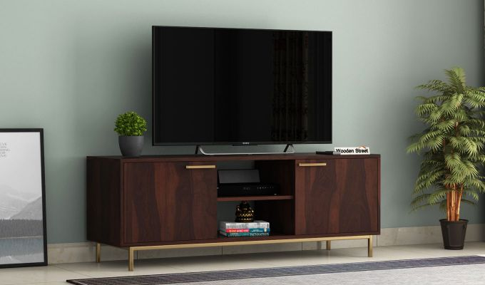 Alto Tv Unit (Walnut Finish)-1