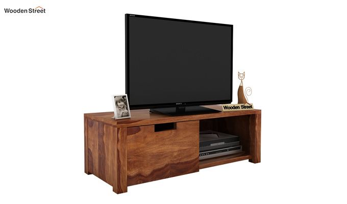 Bacon Tv Unit (Teak Finish)-2