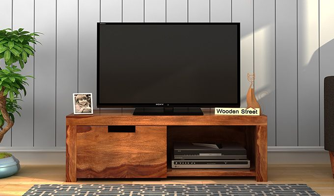 Bacon Tv Unit (Teak Finish)-1