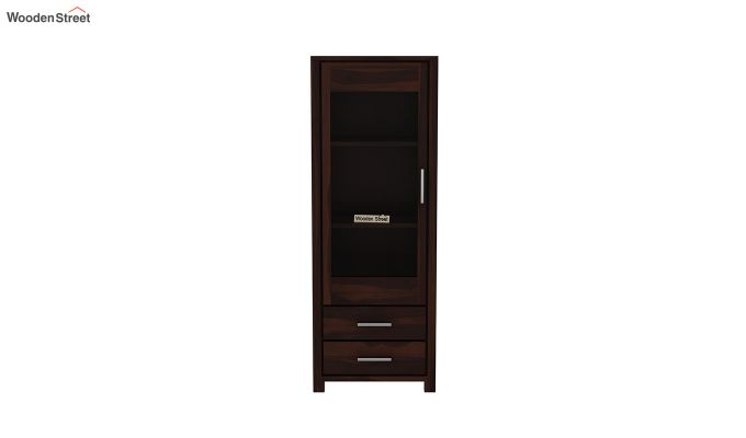 Barun Tv Unit With Side Towers (Walnut Finish)-10
