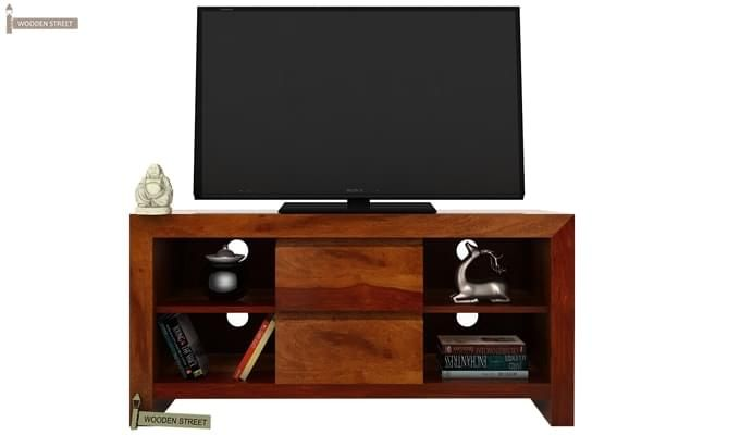 Brook Tv Unit (Honey Finish)-2