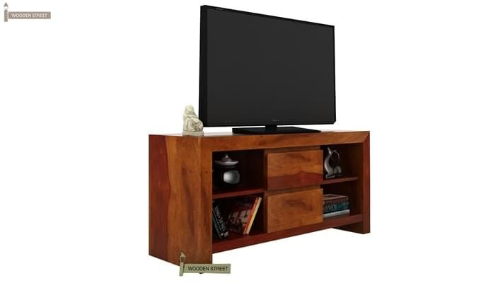 Brook Tv Unit (Honey Finish)-3