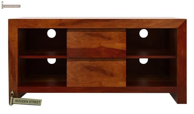 Brook Tv Unit (Honey Finish)-4