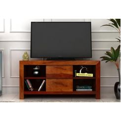 Brook Tv Unit (Honey Finish)