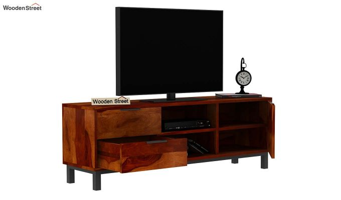 Cadiz Tv Unit (Honey Finish)-5