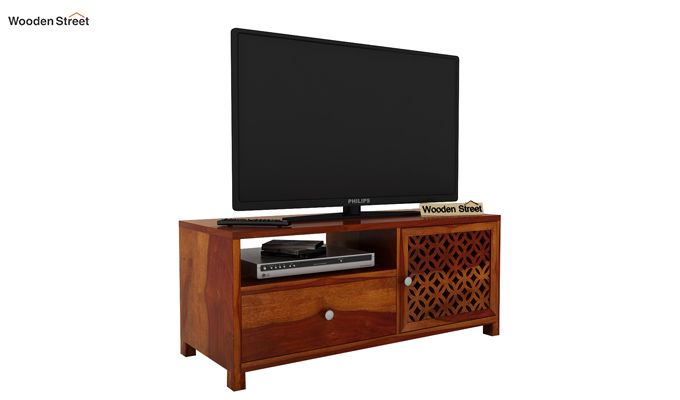 Argil Tv Unit (Honey Finish)-1