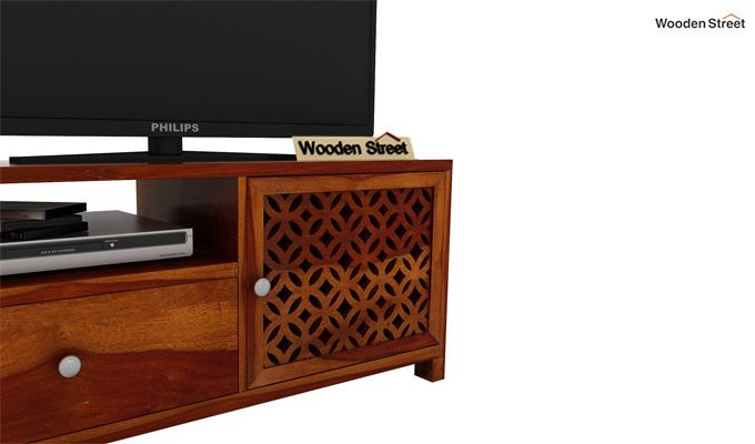 Argil Tv Unit (Honey Finish)-3