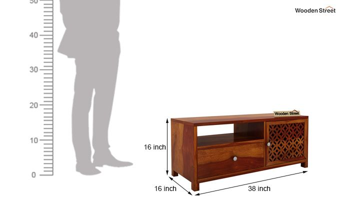 Argil Tv Unit (Honey Finish)-5