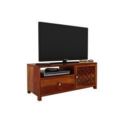 Argil Tv Unit (Honey Finish)
