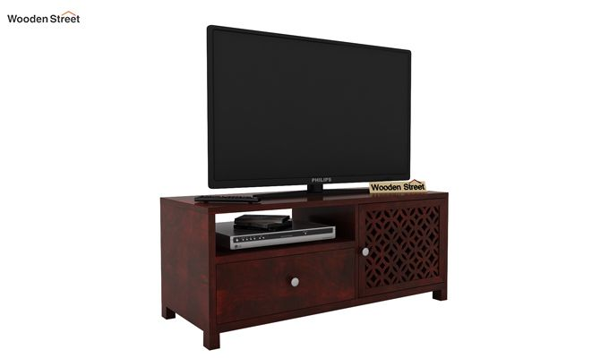 Argil Tv Unit (Mahogany Finish)-1