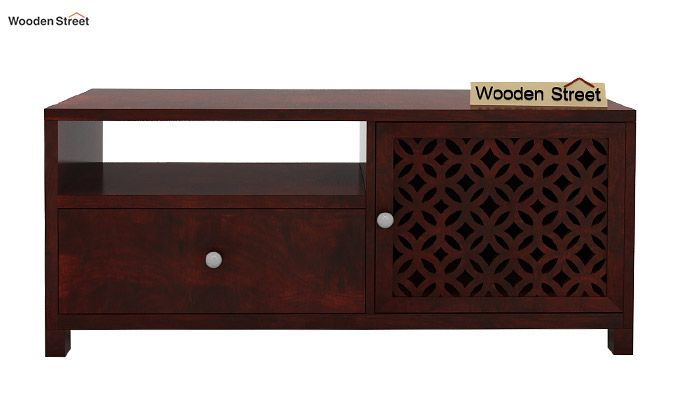 Argil Tv Unit (Mahogany Finish)-3