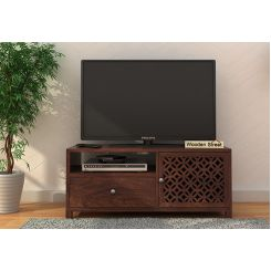 Argil Tv Unit (Walnut Finish)