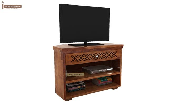 Cambrey Tv Unit (Teak Finish)-1