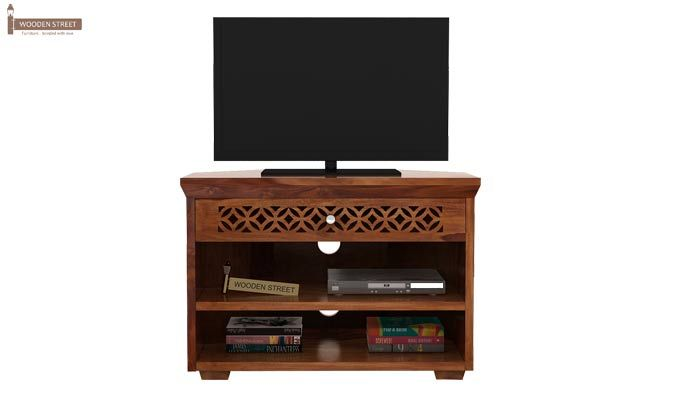 Cambrey Tv Unit (Teak Finish)-2