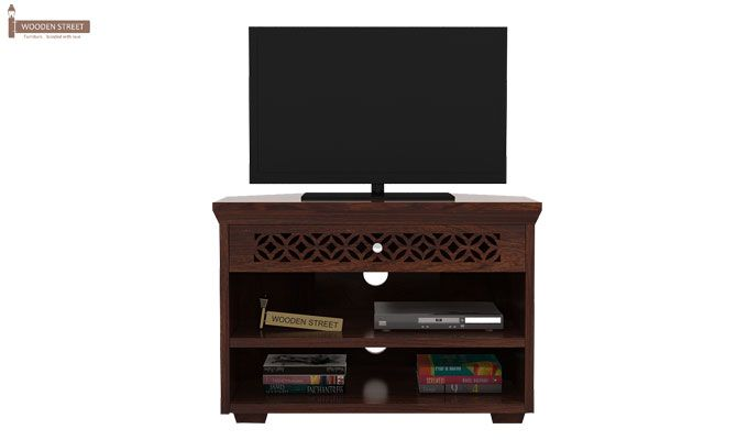 Cambrey Tv Unit (Walnut Finish)-2