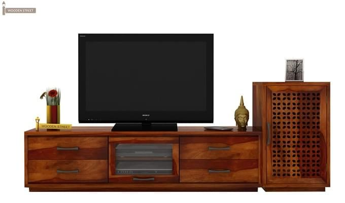 Capezio Tv Unit (Honey Finish)-2