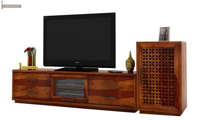 Capezio Tv Unit (Honey Finish)-3