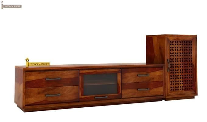 Capezio Tv Unit (Honey Finish)-4