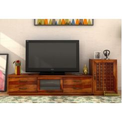 Capezio Tv Unit (Honey Finish)