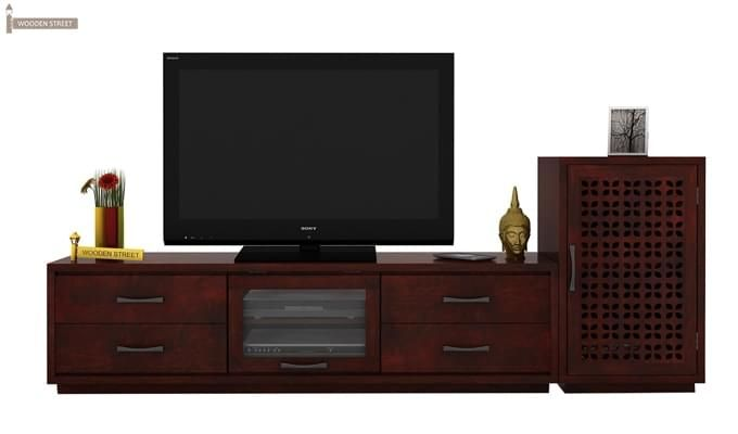 Capezio Tv Unit (Mahogany Finish)-1