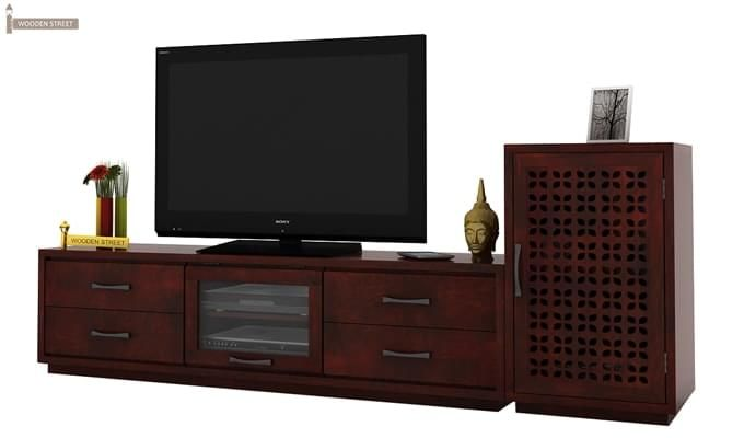 Capezio Tv Unit (Mahogany Finish)-2
