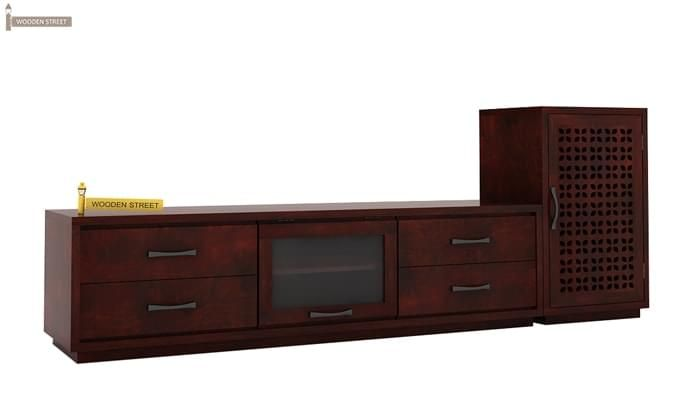Capezio Tv Unit (Mahogany Finish)-3