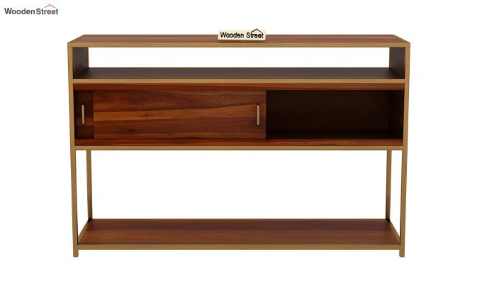 Carto Brass Tv Unit (Honey Finish)-8