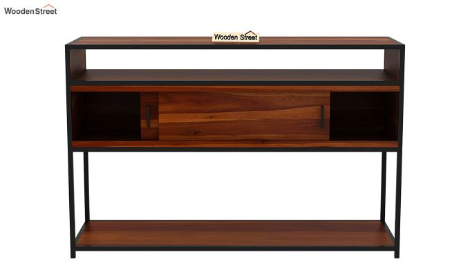 Carto Iron Tv Unit (Honey Finish)-8