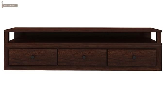 Carvel Tv Unit (Walnut Finish)-3