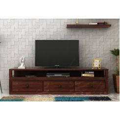 Carvel Tv Unit (Walnut Finish)
