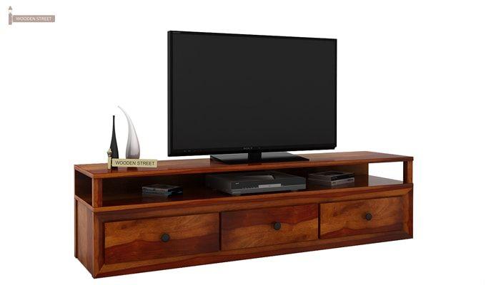 Carvel Tv Unit (Honey Finish)-1