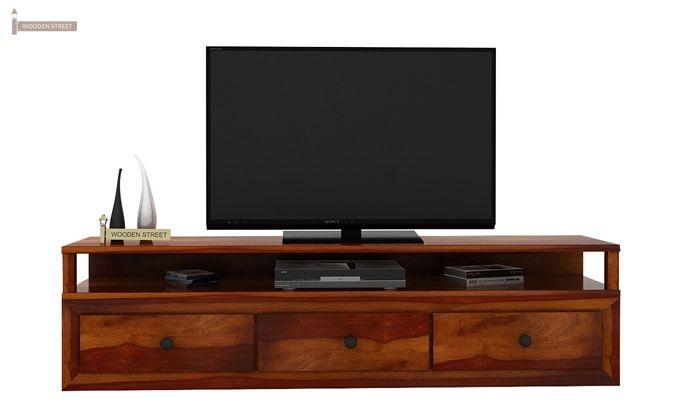 Carvel Tv Unit (Honey Finish)-2