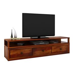 Carvel Tv Unit (Honey Finish)