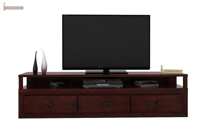 Carvel Tv Unit (Mahogany Finish)-2