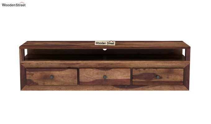 Carvel Tv Unit (Teak Finish)-3