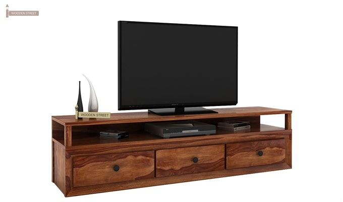 Carvel Tv Unit (Teak Finish)-1