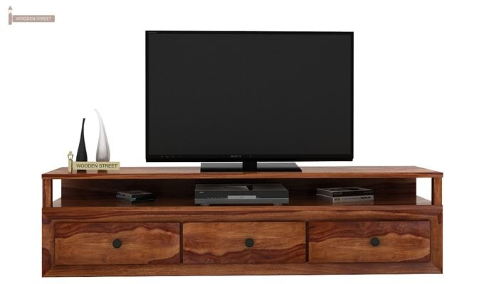 Carvel Tv Unit (Teak Finish)-2