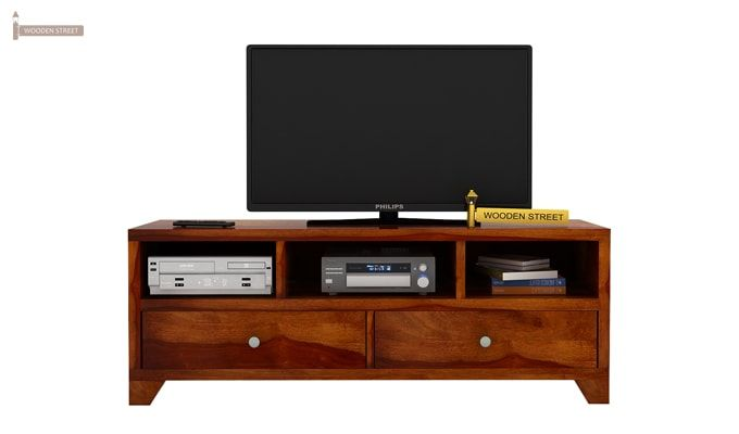 Chappell Tv Unit (Honey Finish)-3