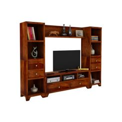Chappell Tv Unit (Honey Finish)
