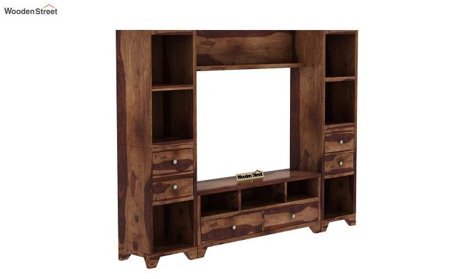 Chappell Tv Unit (Teak Finish)-2