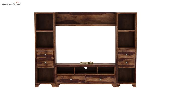 Chappell Tv Unit (Teak Finish)-3