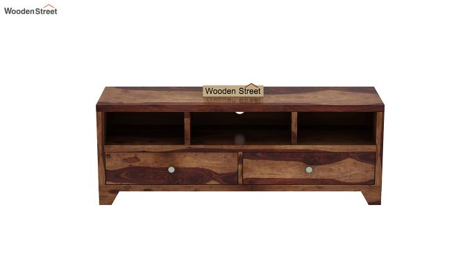 Chappell Tv Unit (Teak Finish)-9