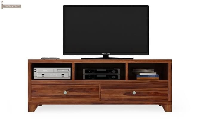 Chappell Tv Unit (Teak Finish)-5