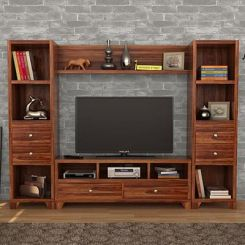 Chappell Tv Unit (Teak Finish)