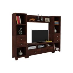 Chappell Tv Unit (Walnut Finish)