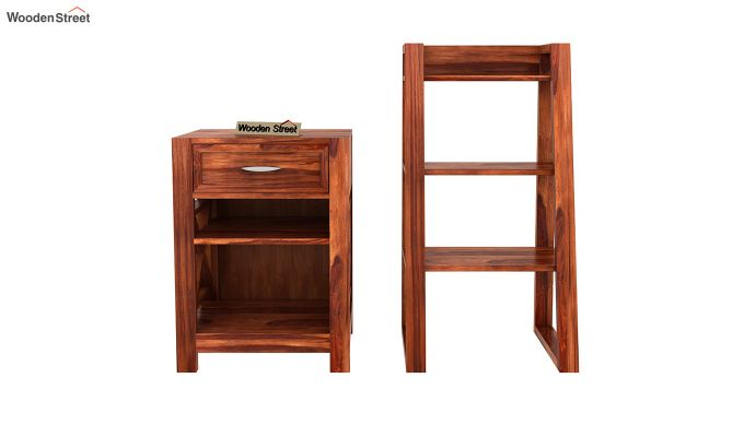 Charon Tv Unit (Honey Finish)-13